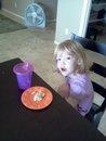 yeah, she got a muffin. or 3...